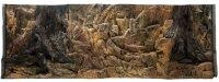 Aquarium Rückwand 3d 50x30cm bis 200x60cm Terrarien Fels Wurzel Strucktur NEU
