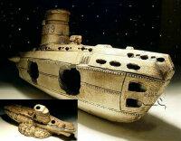 Deko Aquarium U-Boot 30x10x13cm (L/B/H)