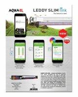 Aquael Leddy Slim LINK 1-36W LED Beleuchtung weiß Steuerung per App Aquarium Nano