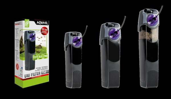 Aquael Unifilter 500 750 1000 UV POWER