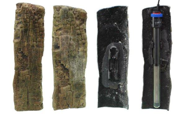 Dekoblende Holzoptik für Heizstab 26 / 35cm