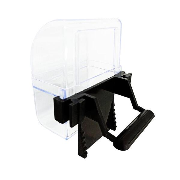 2er-Set ZooPaul Futter- oder Wassernapf für Vogelkäfig schwarz